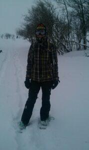 """Winter hiking""... aka snowshoeing"